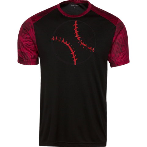 Youth Baseball CamoHex Athletic Shirt