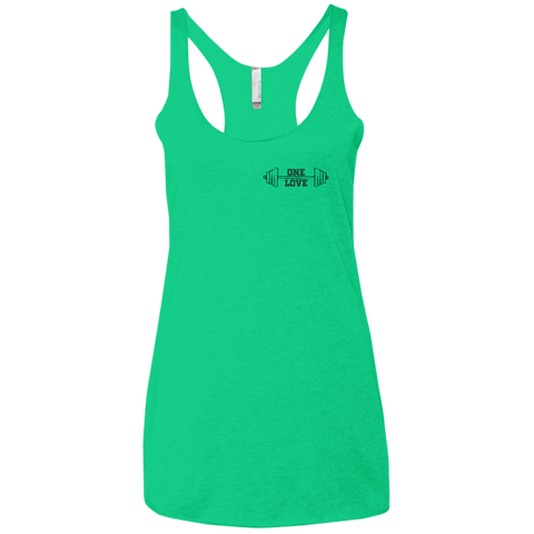 Ladies' One Love Triblend Tank