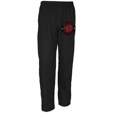 ABQ Men's Track Pants Red