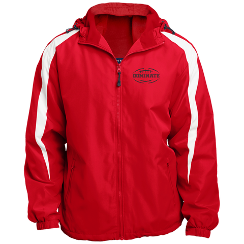Men's Football Fleece Lined Hooded Jacket