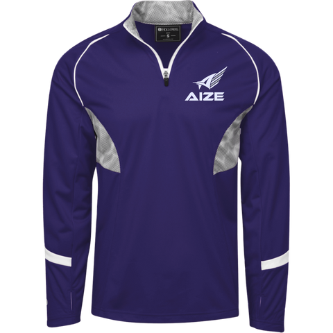 Aize 1/4 Zip Pullover with Camo Inserts
