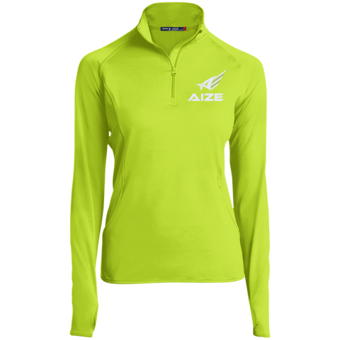 Ladies' Aize 1/2 Zip Athletic Pullover