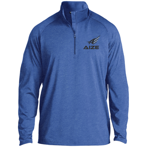 Men's Black Aize 1/2 Zip Athletic Pullover