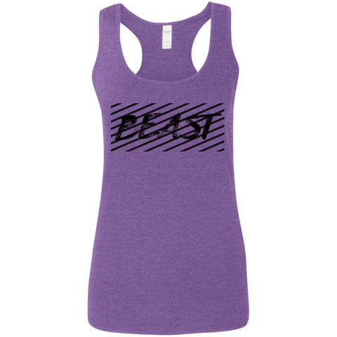 Ladies' Beast Racerback Gym Tank
