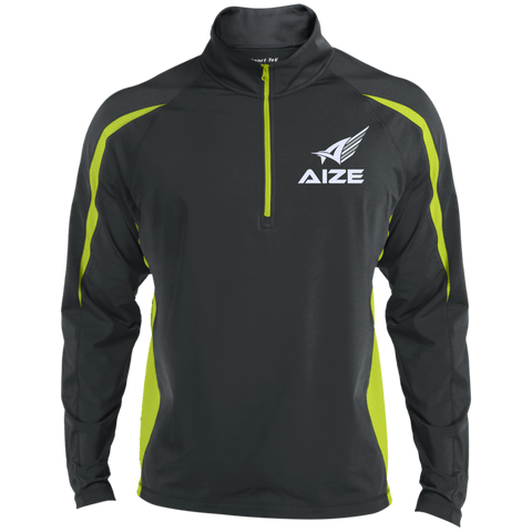 Men's Aize Athletic Colorblock 1/2 Zip Pullover
