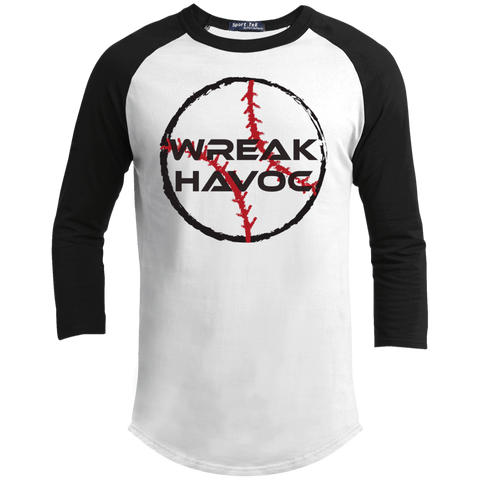 Youth 3/4 Sleeve Baseball T Shirt