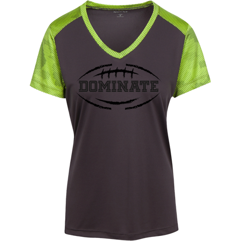 Ladies' Football Athletic V-Neck