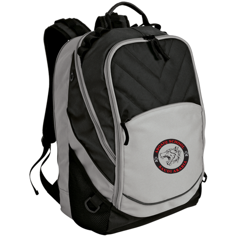 ABQ School Black Wolf Backpack
