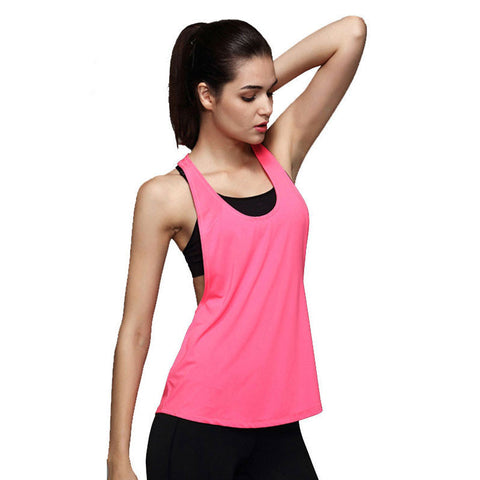 Ladies' Sleeveless Oblique Tank