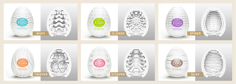 Tenga Eggs Regular Strength