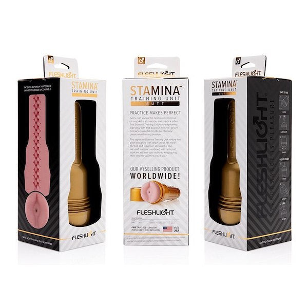 Fleshlight Pink Butt Stamina Training Unit-Fleshlight-Madame Claude