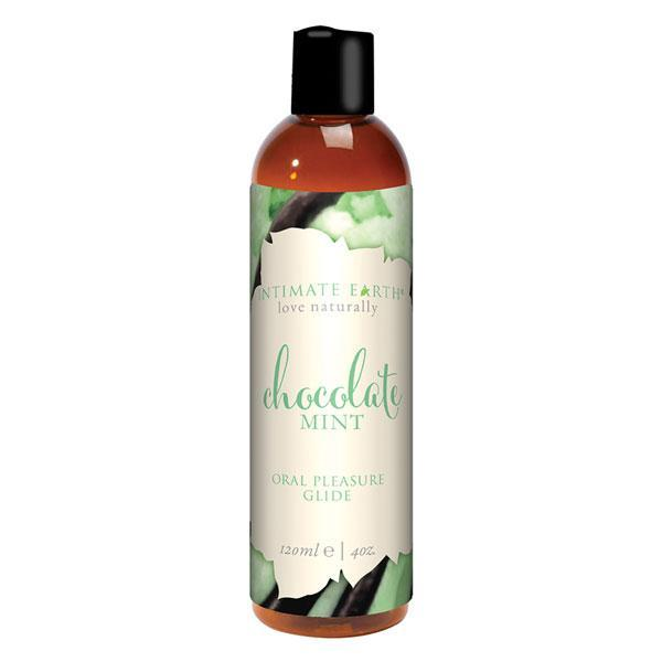 Intimate Earth Chocolate and Mint Flavor Lube 120ml-Intimate Earth-Madame Claude