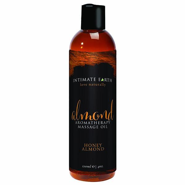 Intimate Earth Honey Almond Massage Oil 120ml-Intimate Earth-Madame Claude