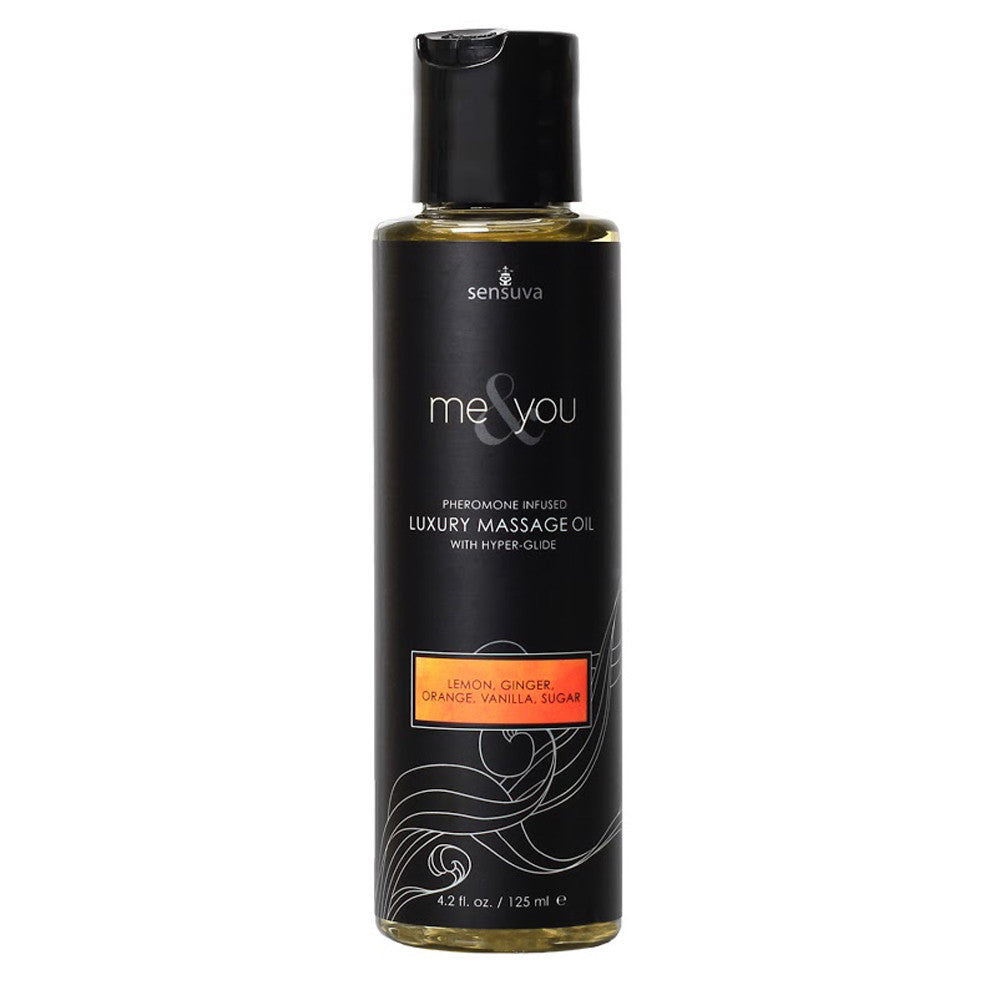 Sensuva Me & You Massage Oil 125ml Lemon, Ginger...-Sensuva (ON)-Madame Claude
