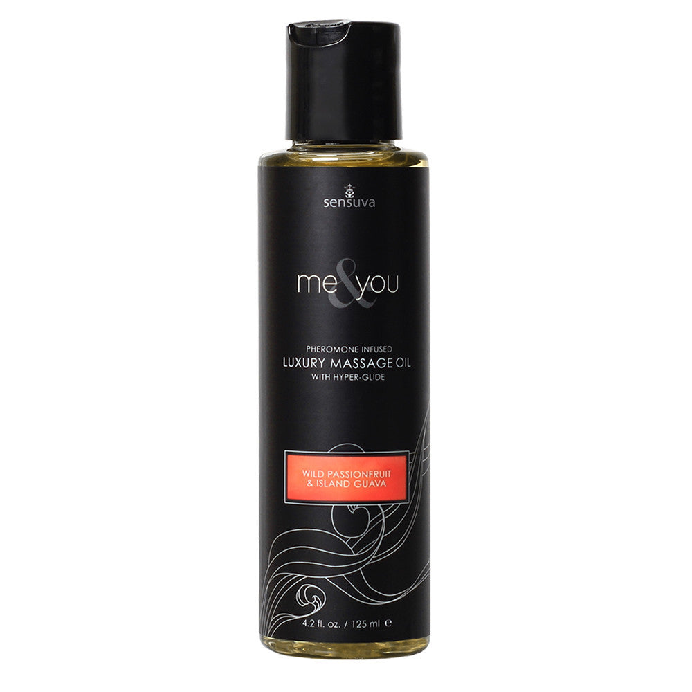 Sensuva Me & You Massage Oil 125ml Passionfruit, Guava-Sensuva (ON)-Madame Claude