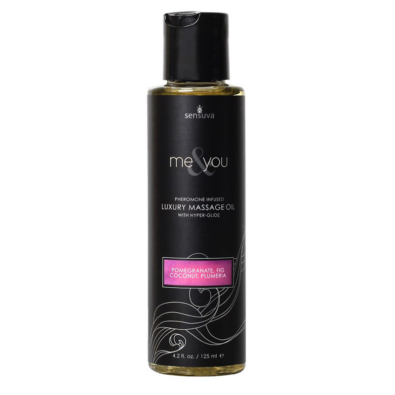 Sensuva Me & You Massage Oil 125ml Pomegranate, Fig...-Sensuva (ON)-Madame Claude