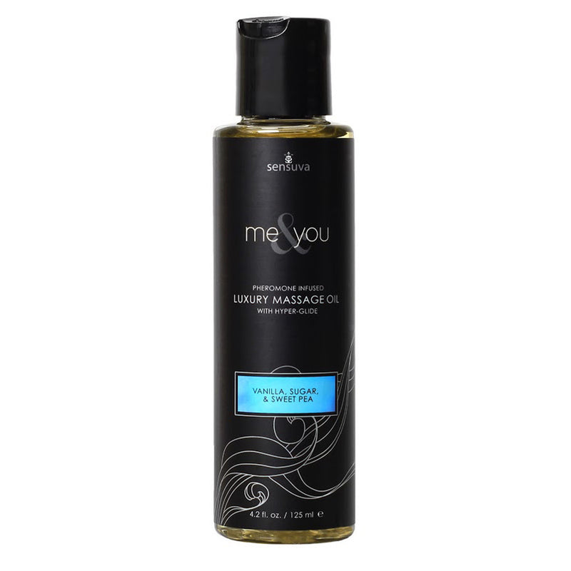 Sensuva Me & You Massage Oil 125ml Vanilla, Sweet Pea...-Sensuva (ON)-Madame Claude