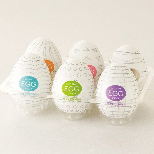 Tenga EGG Variety Pack (6 in 1)-Tenga-Madame Claude