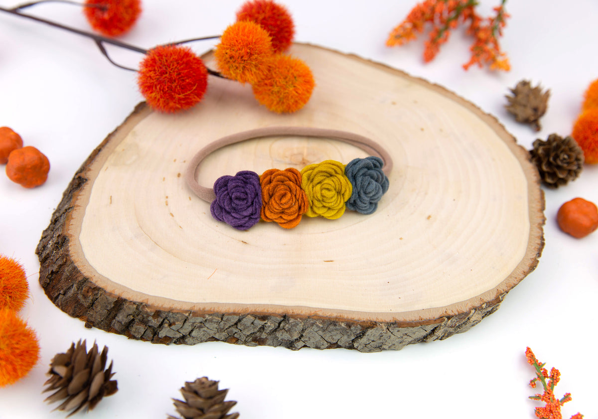 Felt Flower Crown | Halloween Crown
