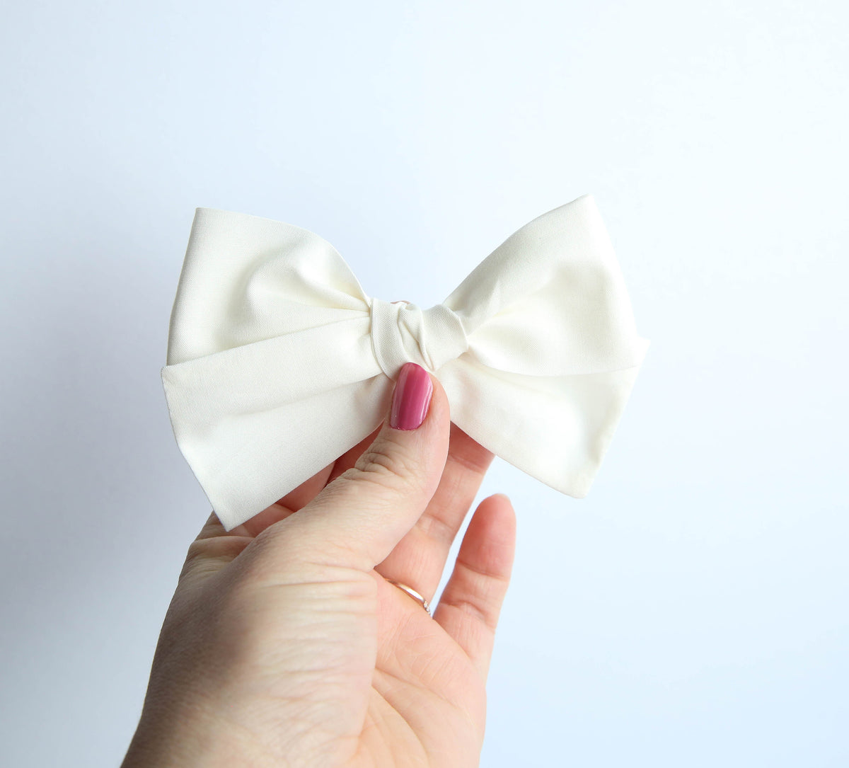 Classic Ivory | Multiple Styles (Headband or Clip)