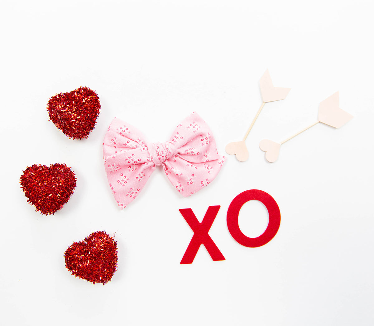 XOXO  | Multiple Styles (Headband or Clip)