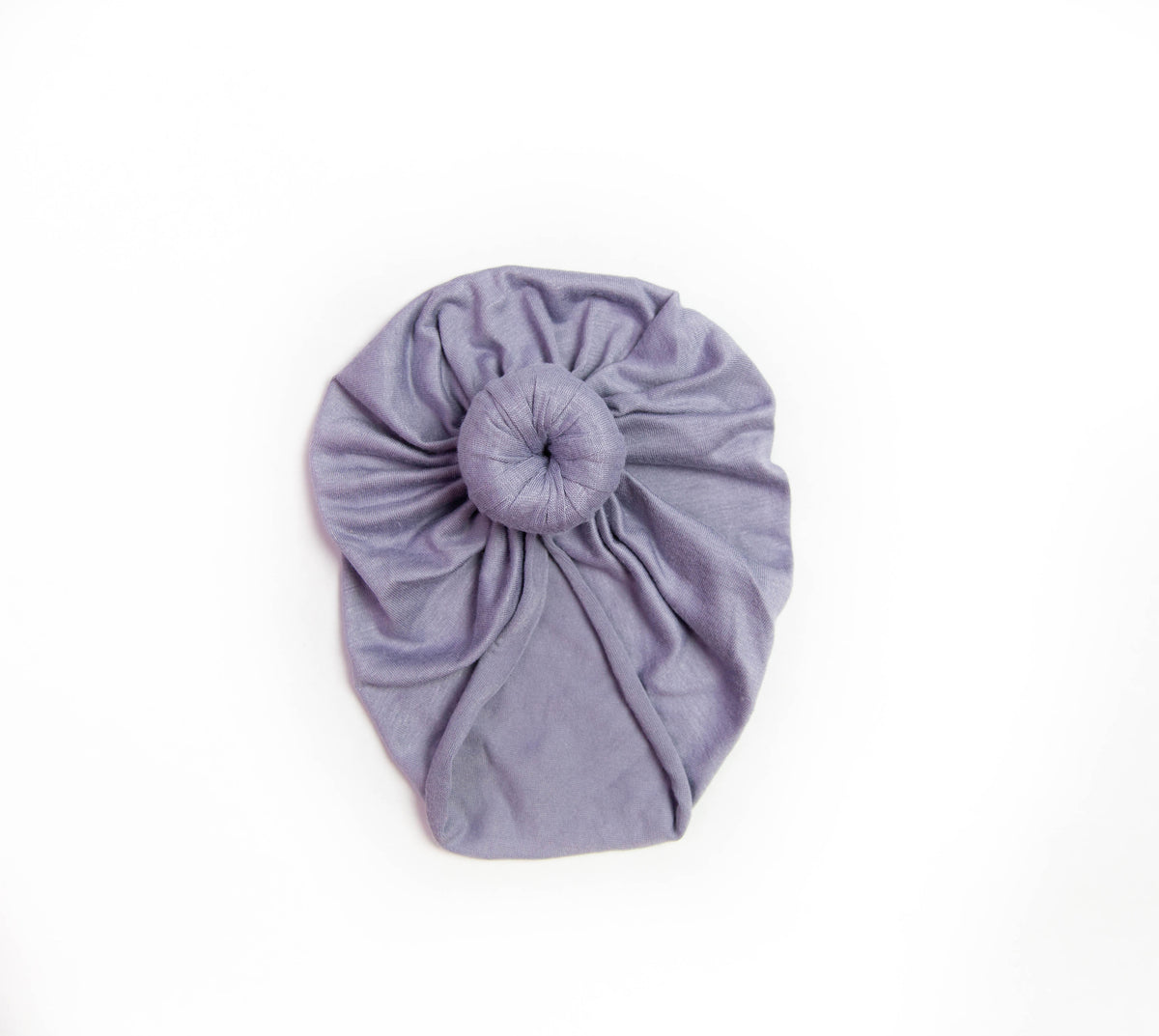 Dusty Purple Headwrap Turban | Knit Headwrap