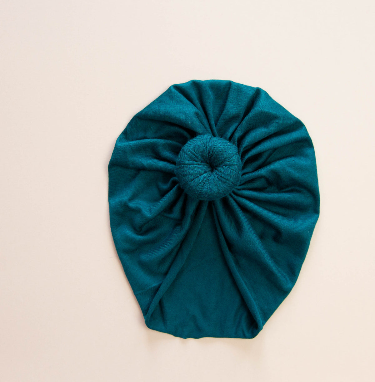 Peacock Headwrap Turban | Knit Headwrap