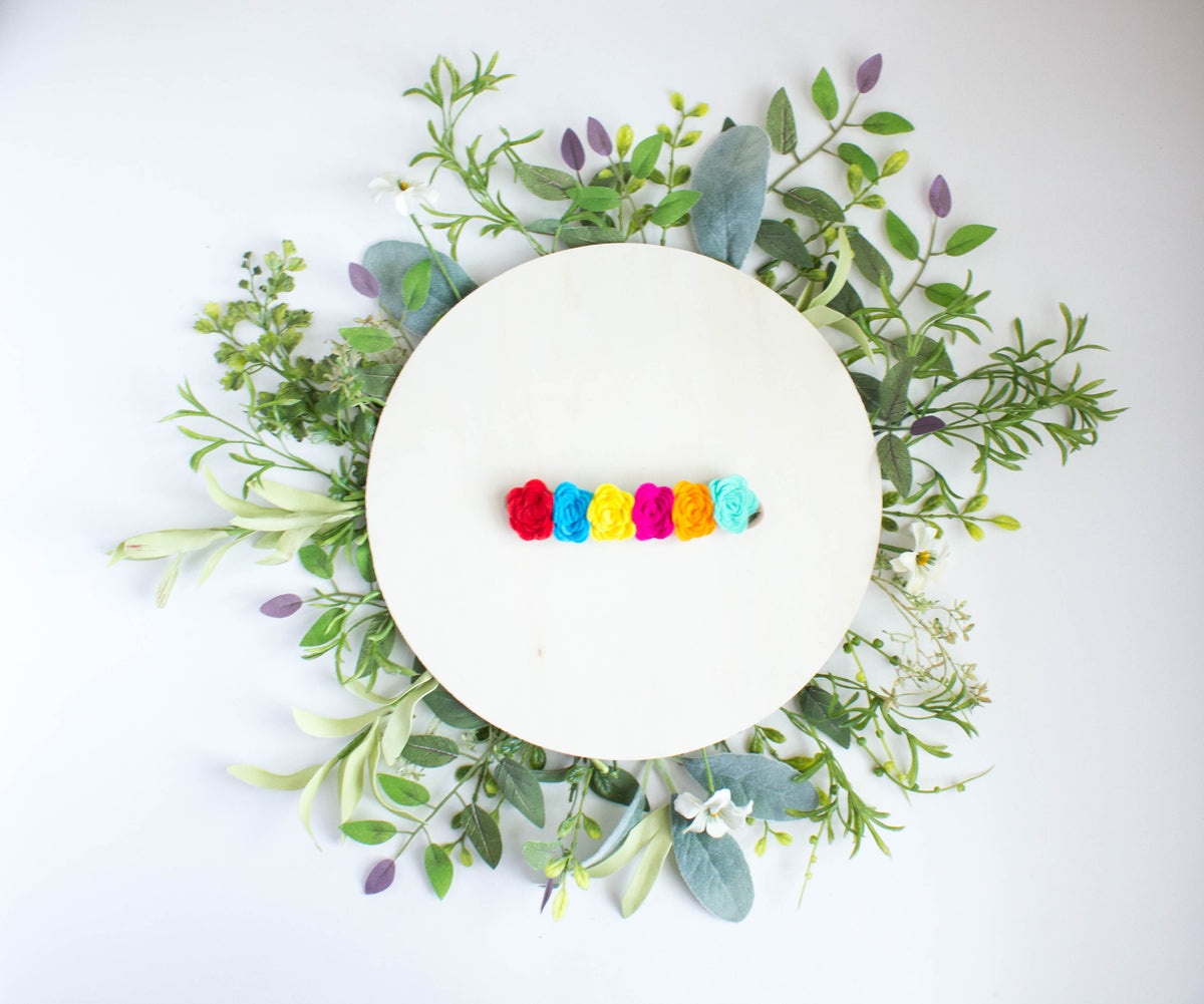 Fiesta Felt Flower Crown