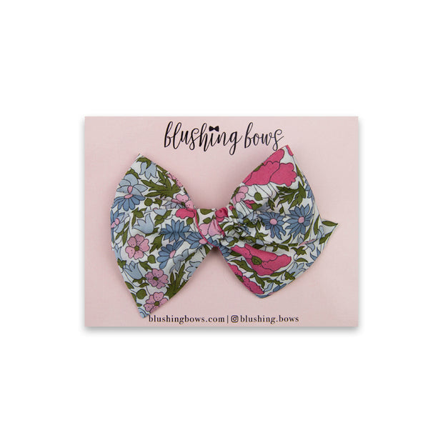 Brimley Floral | Multiple Styles (Headband or Clip)