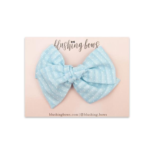 Blue Dot Vintage $5 | Multiple Styles (Headband or Clip)