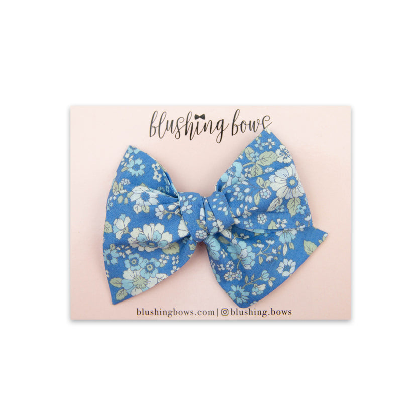 Aggie Floral | Multiple Styles (Headband or Clip)