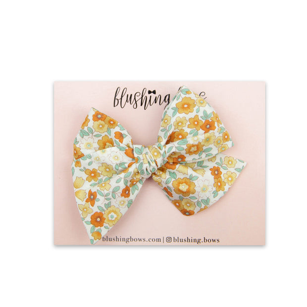 Blythe Floral | Multiple Styles (Headband or Clip)