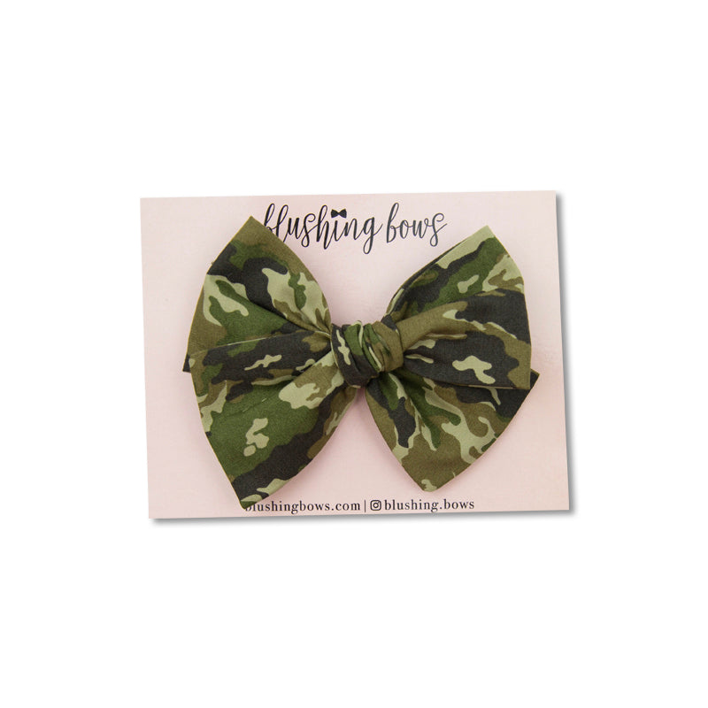 Camo | Multiple Styles (Headband or Clip)
