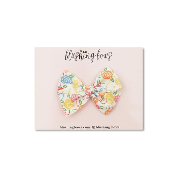 Colorful Ribbon Bloom  Liberty of London $5 | Multiple Styles (Headband or Clip)