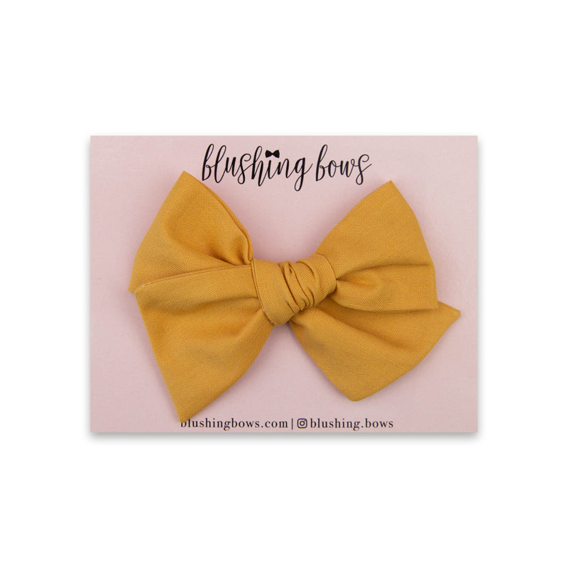 Dandelion Yellow |  Multiple Styles (Headband or Clip)