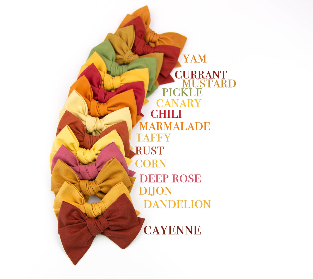 Yam |  Multiple Styles (Headband or Clip)