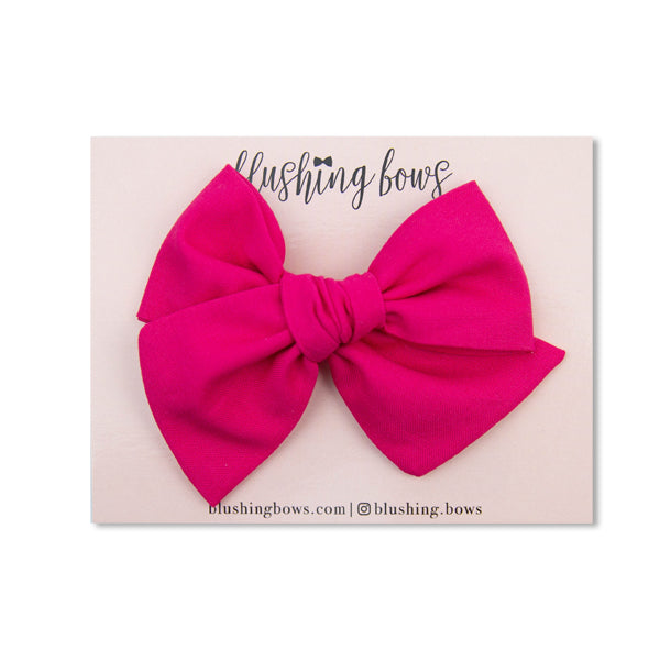 Fuchsia | Multiple Styles (Headband or Clip)
