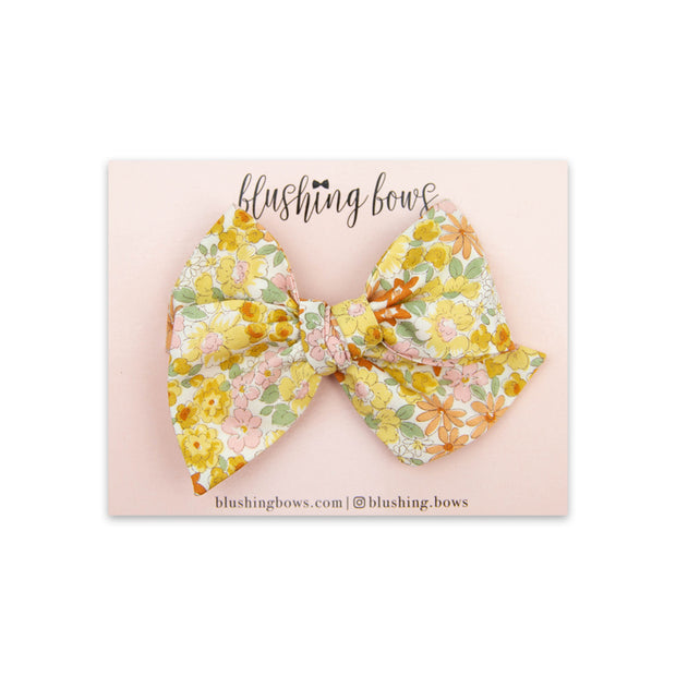 Iris Floral | Multiple Styles (Headband or Clip)