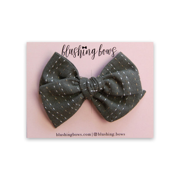 Textured Slate | Multiple Styles (Headband or Clip)