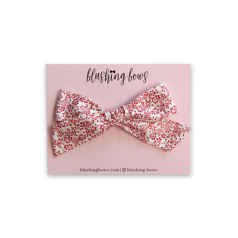 Holly Berry | Multiple Styles (Headband or Clip)