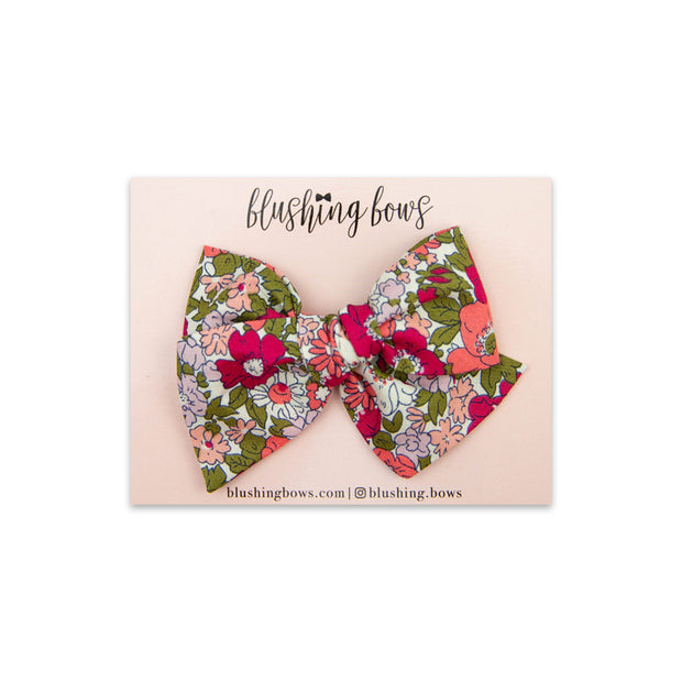 Rosie Floral | Multiple Styles (Headband or Clip)