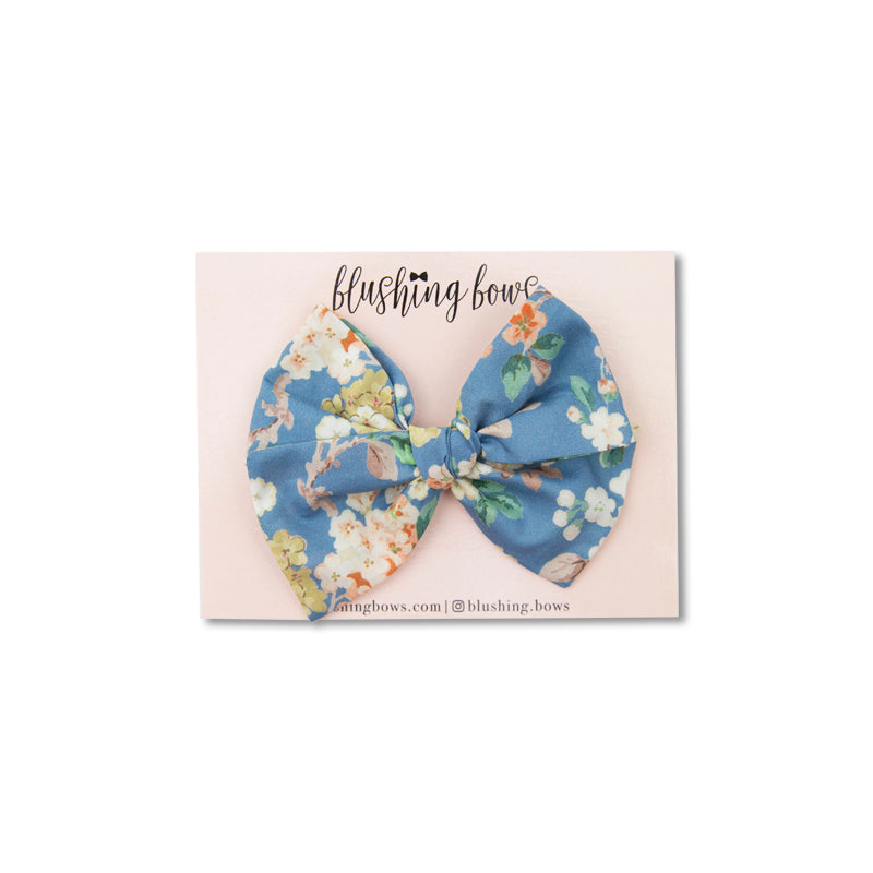 Blue Garden | Liberty of London | Multiple Styles (Headband or Clip)