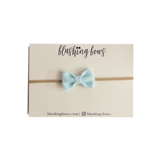 Mini Felt Newborn Bow