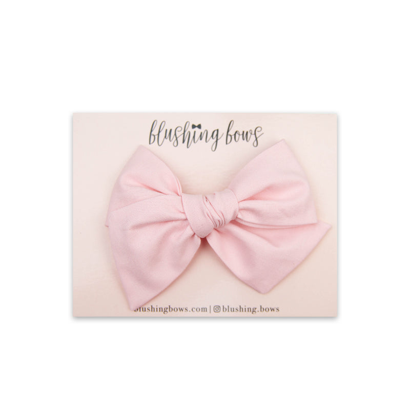 Classic Pink | Multiple Styles (Headband or Clip)