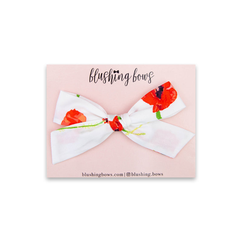 Poppy | Multiple Styles (Headband or Clip)