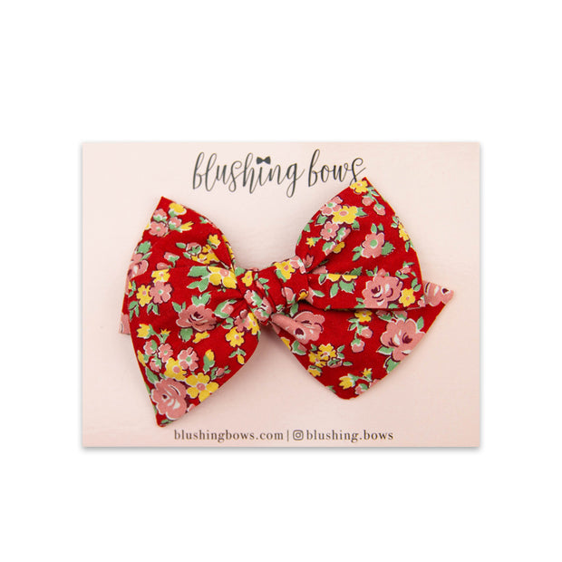 Linnie Floral | Multiple Styles (Headband or Clip)