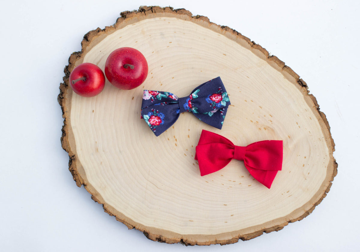 Classic Red Bow | Multiple Styles (Headband or Clip)