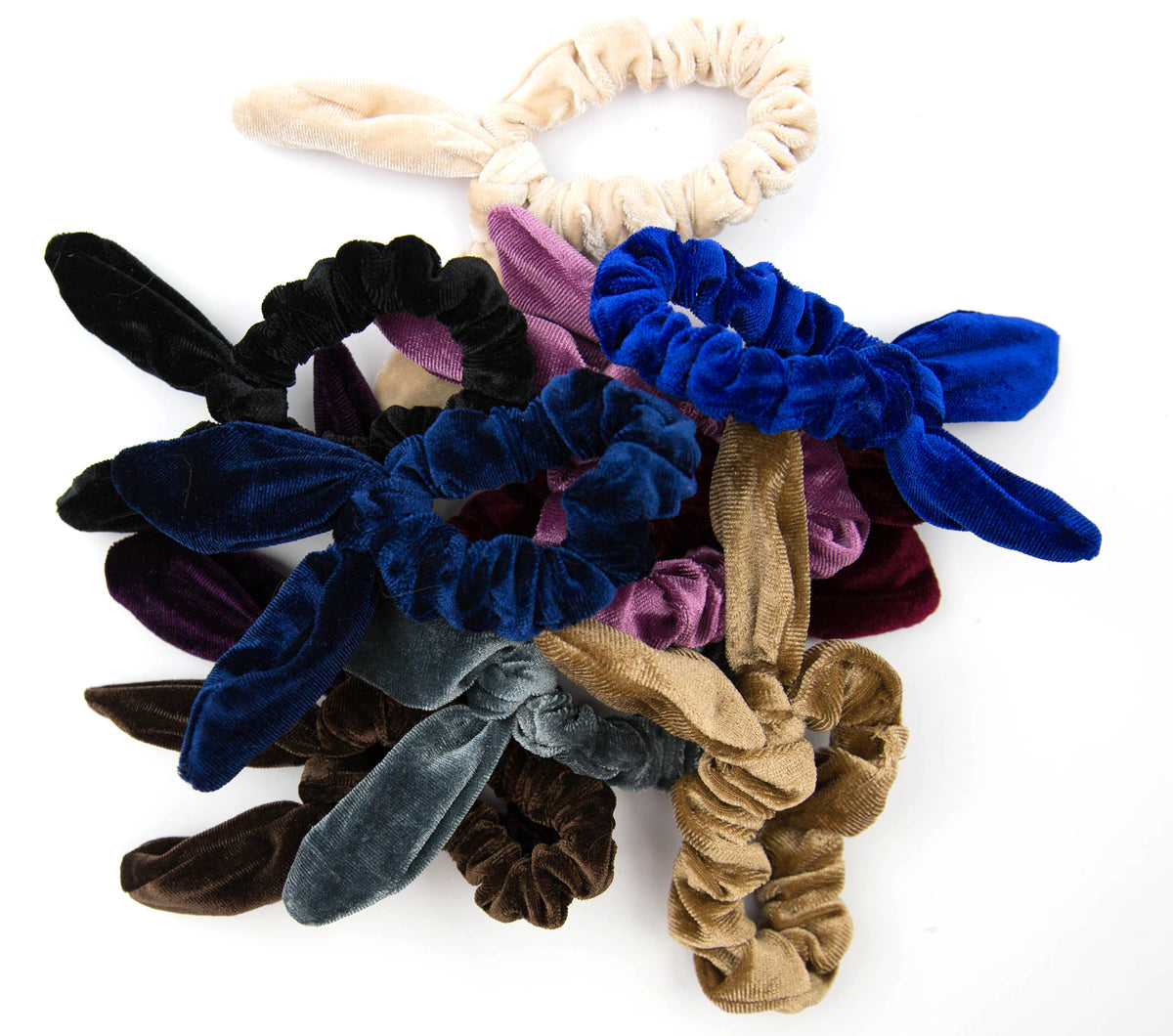 Camel | Rabbit Ear Scrunchie