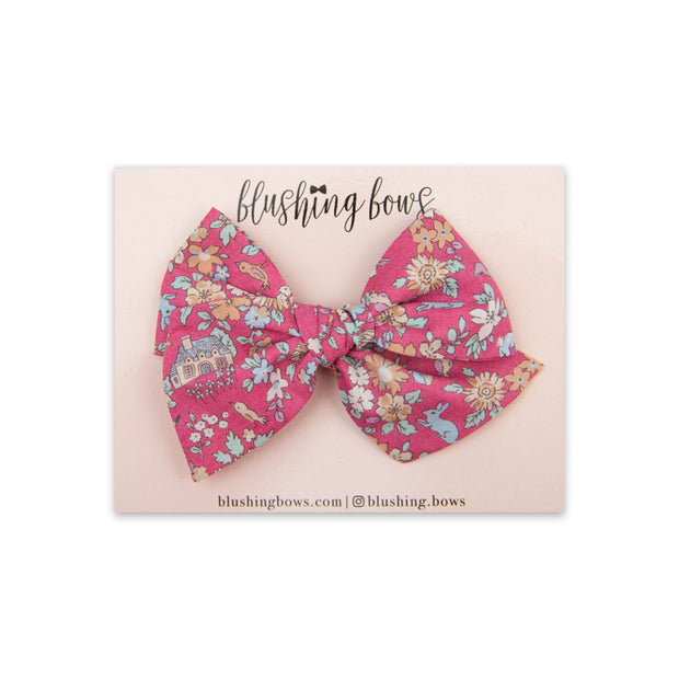 Prim Floral | Multiple Styles (Headband or Clip)
