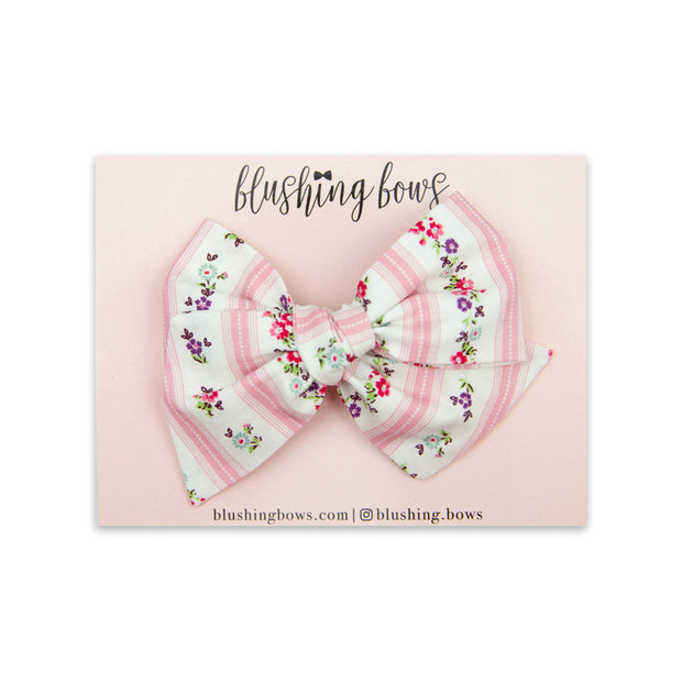 Lucinda Floral | Multiple Styles (Headband or Clip)